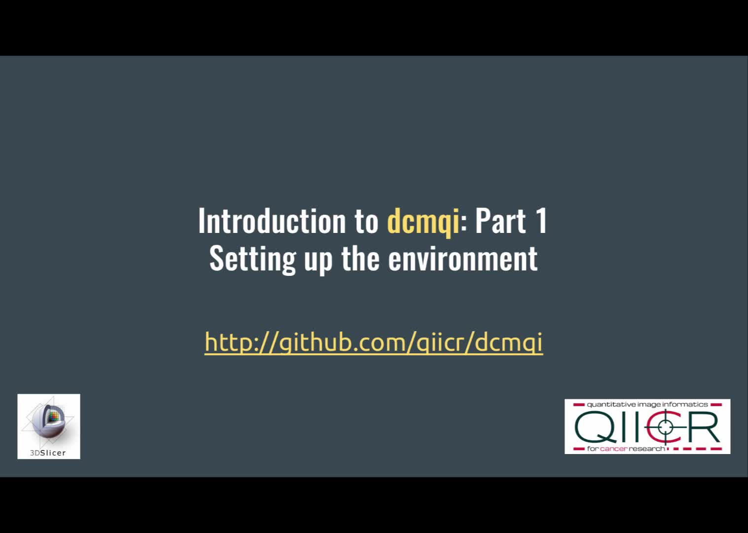 dcmqi: An Open Source Library for Standardized Communication