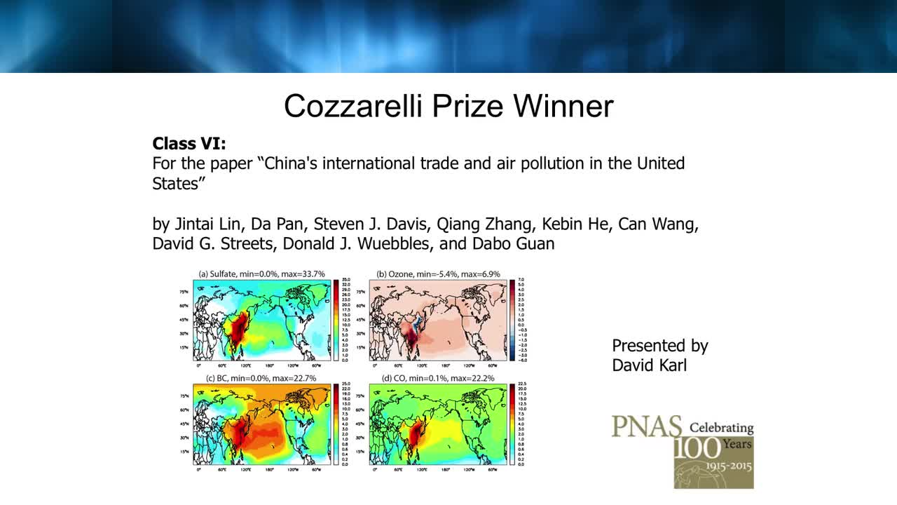 Cozzarelli Prize   PNAS