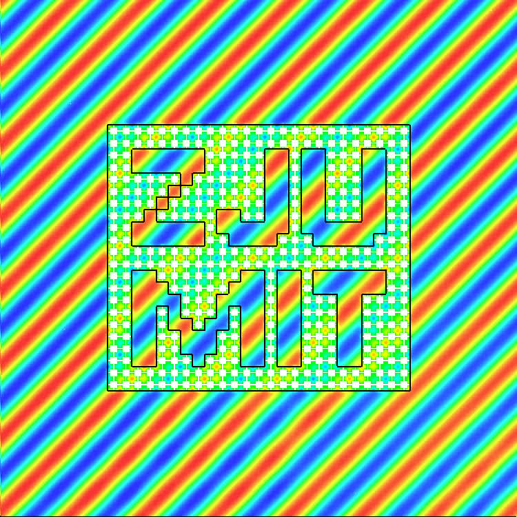 Invisible metallic mesh | PNAS