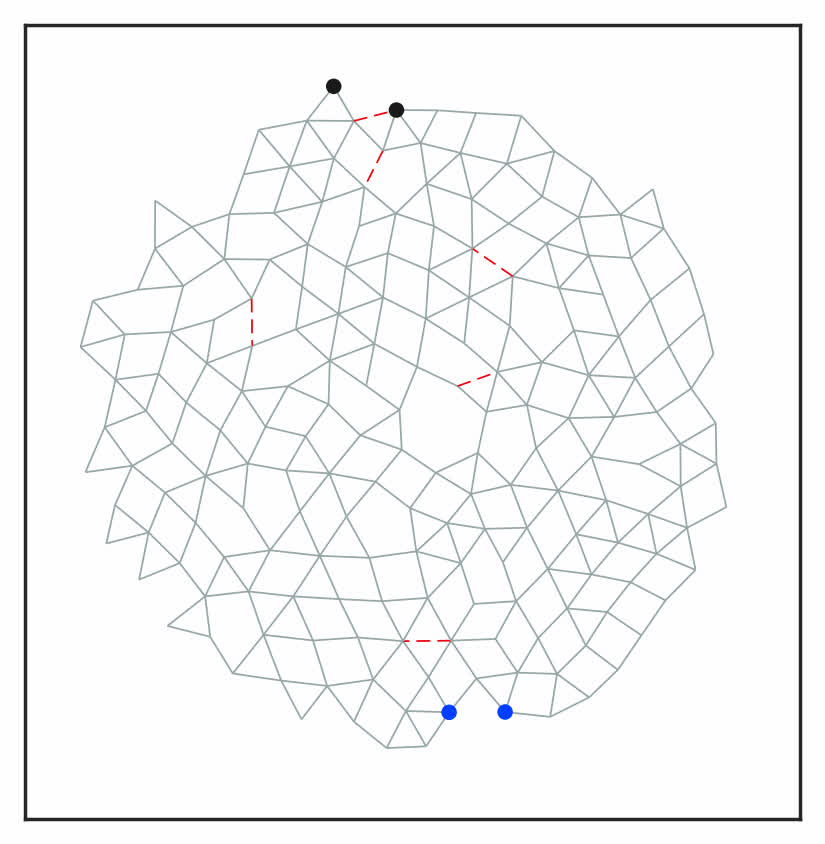 Designing Allostery Inspired Response In Mechanical Networks