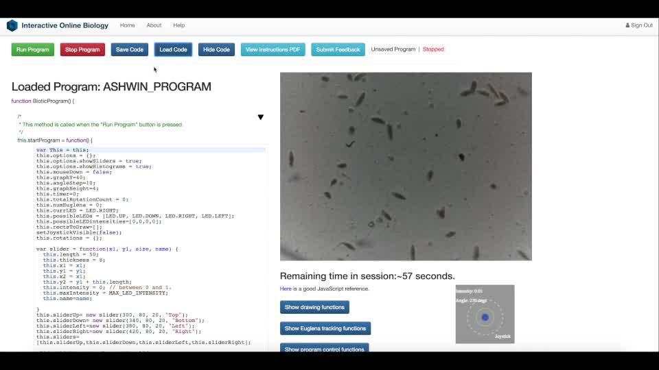 Interactive programming paradigm for real-time